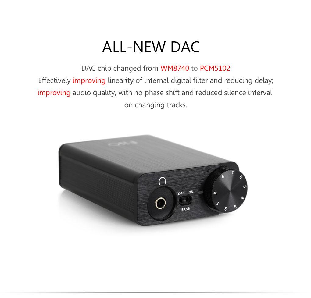 Fiio E10K Headphone Amp DAC