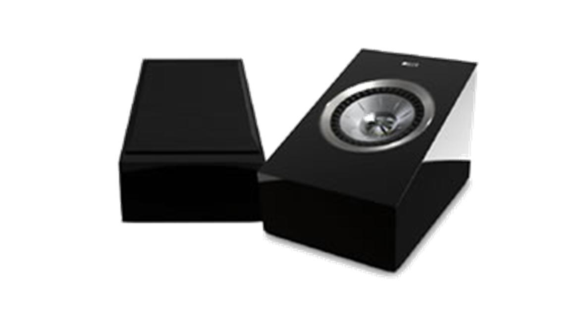 KEF R50 Dolby-Atmos enabled speakers
