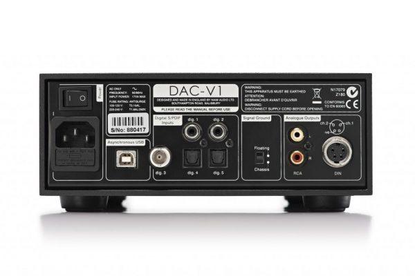 Naim Audio DAC-V1 Back