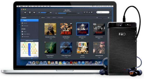 FiiO Kunlun E18 With Apple MacBook