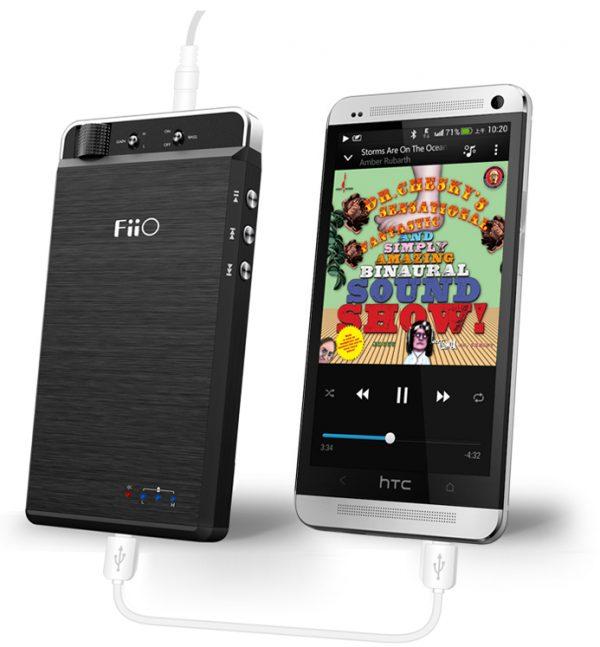 FiiO Kunlun E18 With HTC One