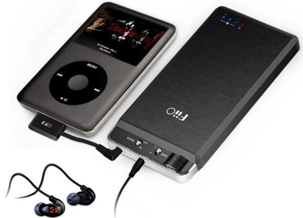 FiiO Kunlun E18 With iPod Classic