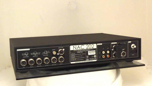 Naim Audio NAC 202 Pre-Amplifier Back