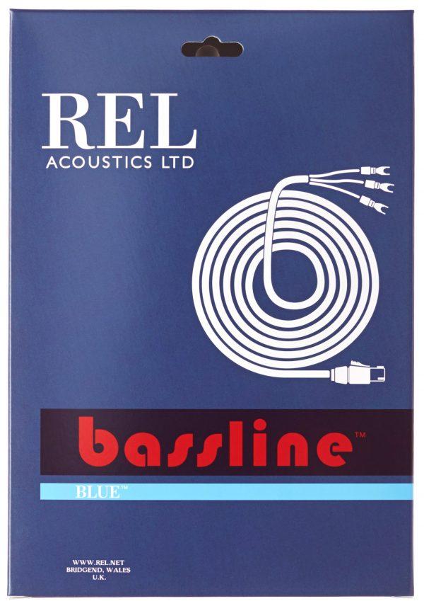 REL Acoustics Bassline Blue Subwoofer Cable