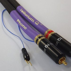Tellurium Q Black Diamond Phono RCA Interconnect Cable
