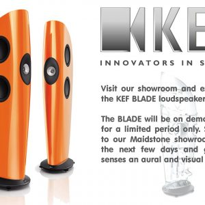 KEF BLADE Available For Demonstration NOW!