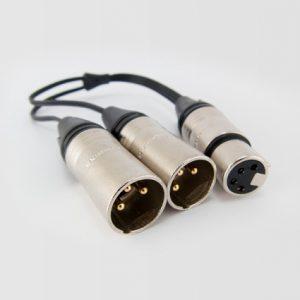 Audeze 4-Pin to Dual 3-Pin Cable