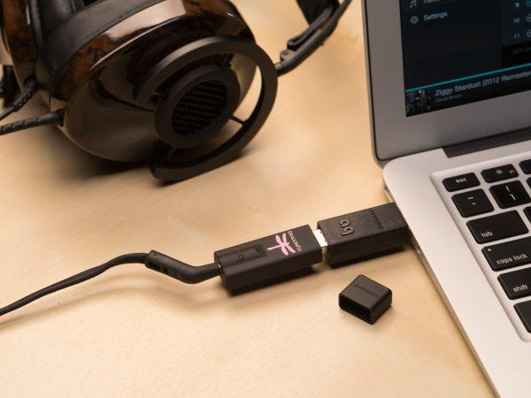AudioQuest DragonFly Black Portable USB DAC & Headphone Amplifier 4