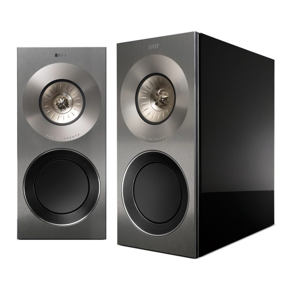 KEF Reference 1 Stand Mount Speakers Piano Black