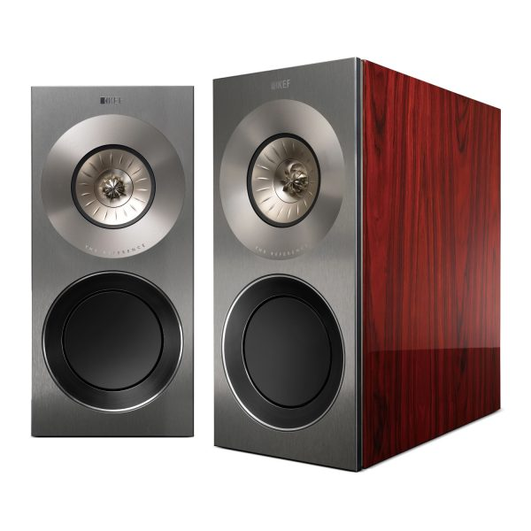 KEF Reference 1 Stand Mount Speakers Luxury Gloss Rosewood