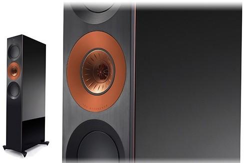 KEF Reference 3 Floorstanding Speakers Copper Black Aluminium