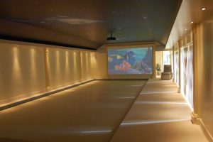 Swimming Pool Cinema System