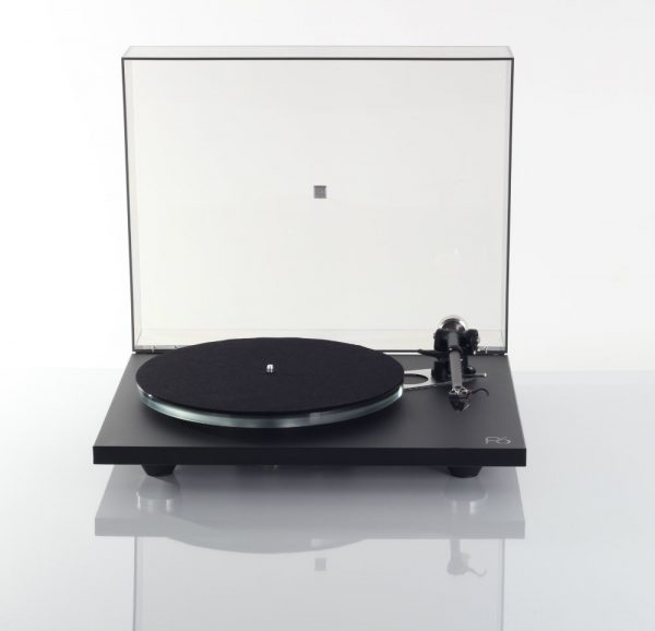 Rega Planar 6 Turntable lid open