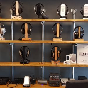 Introducing… our new headphone demo zone