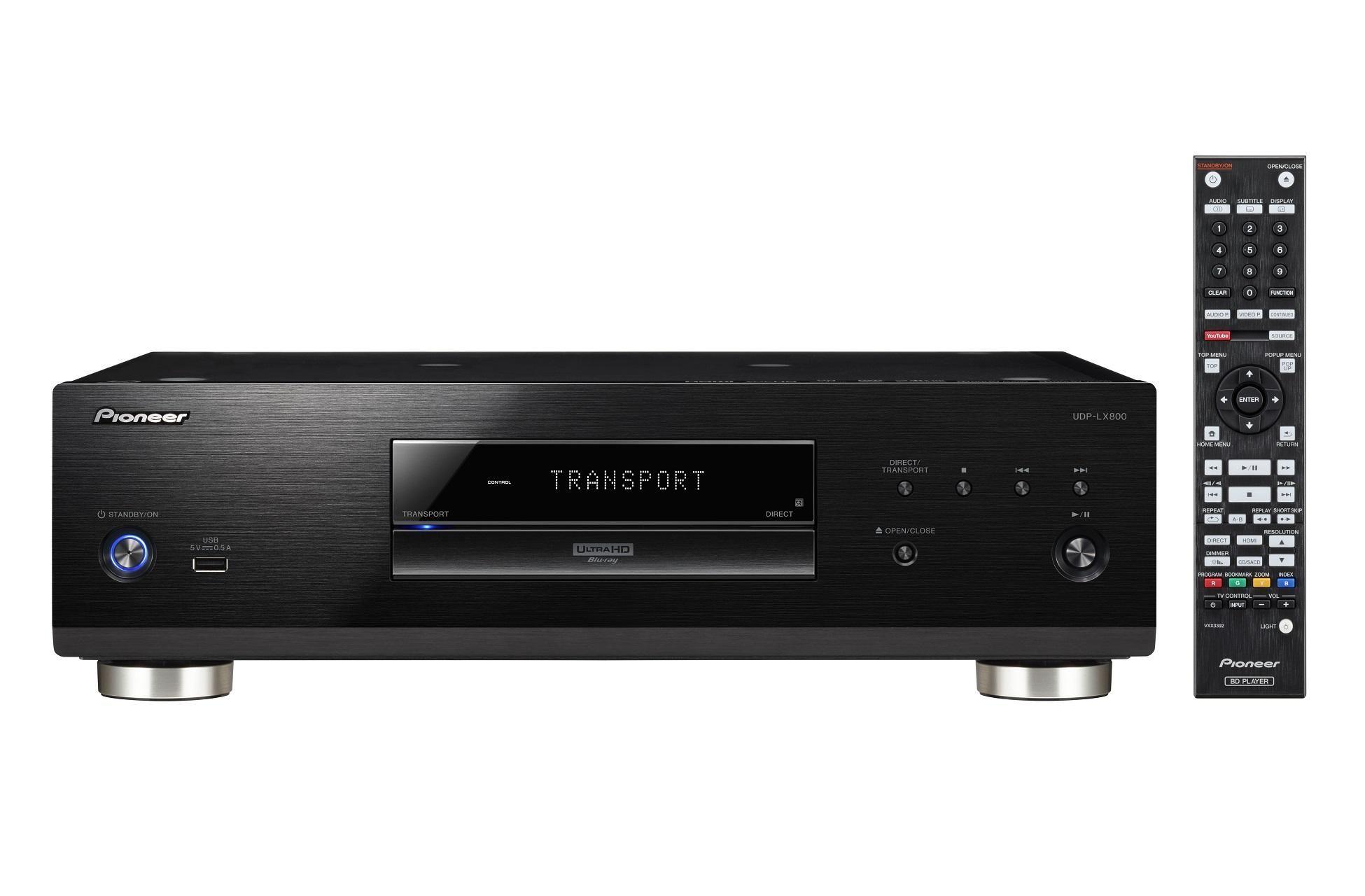 pioneer udp lx800 4k uhd blu ray player home media