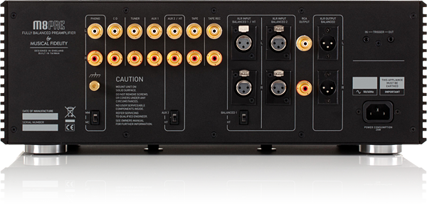 Musical Fidelity M8PRE Preamplifier