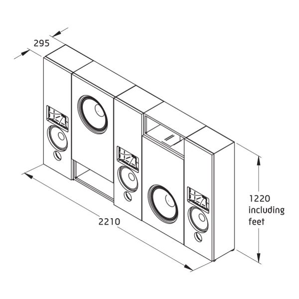 Krix MX-20 In-Wall/Ceiling Speaker Package 7.2.2