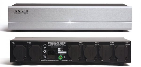 ISOL-8 MiniSub Axis Mains Conditioner