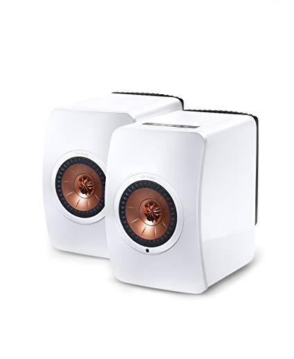 KEF LS50 Wireless Active Bookshelf Speaker