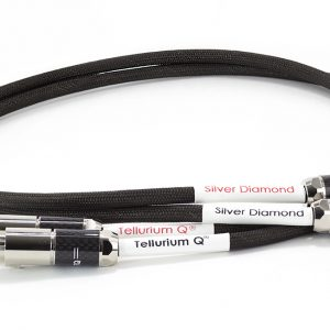 Tellurium Q Silver Diamond XLR Balanced Interconnect Cable