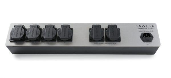 ISOL-8 PowerLine Ultra 6-Way Mains Conditioner