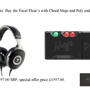 Chord Electronics Mojo Bundle Deal