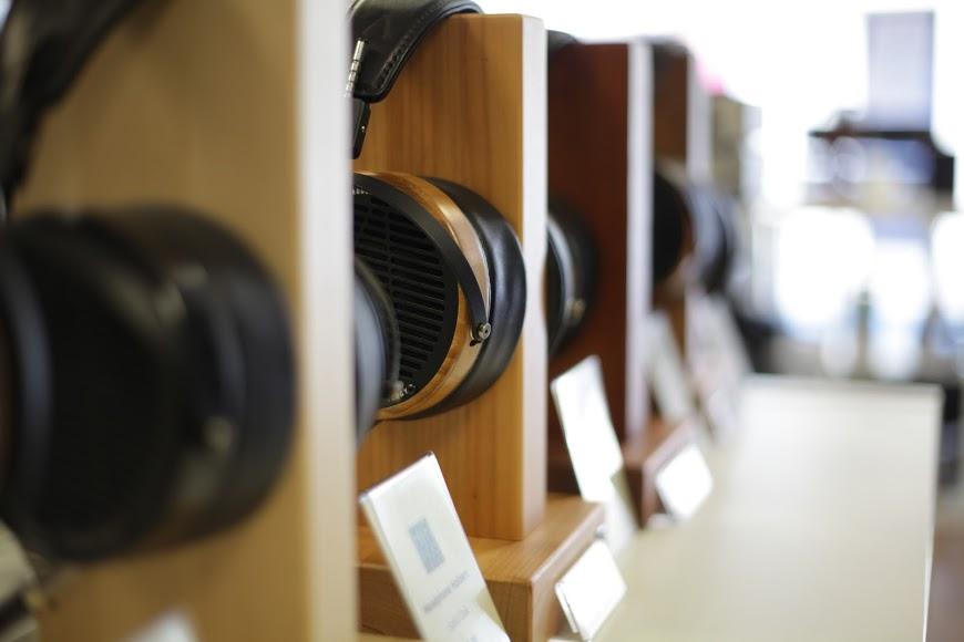 Headphone wall