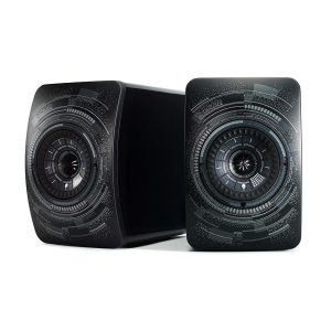 KEF LS50 Wireless Nocturne Edition Bookshelf Speakers