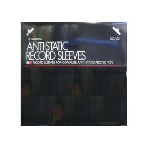 Nagaoka Anti-Static Vinyl Record Sleeves