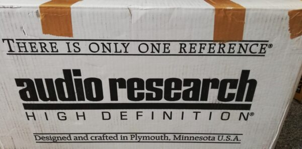Audio Research Reference Phono 2 packaging