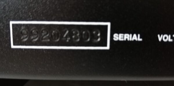 Audio Research Reference Phono 2 serial number
