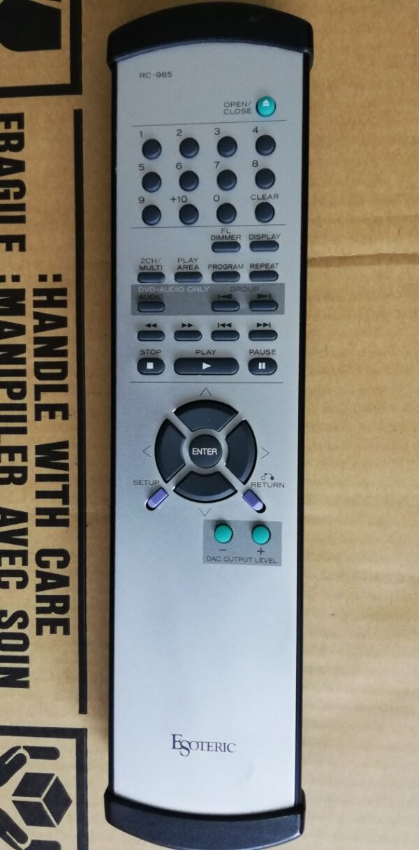 Esoteric P-01 CD Transport remote