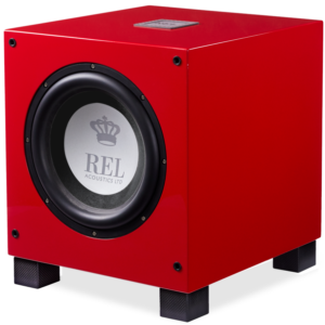REL T/9i Red Special Edition Subwoofer
